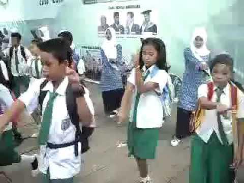 Tari Kisah Kasih Di Sekolah (KKDS) || MI ALHIDAYAH Muara Telang