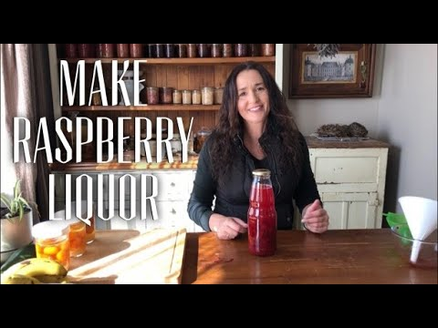 How to make Raspberry Liquor