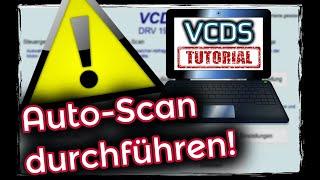 VCDS: AutoScan; Was ihr vor JEDER Codierung machen solltet ! Steuergeräte Abbild