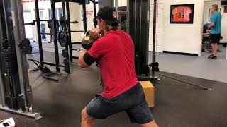 EricCressey.com: Standing 1-arm Cable Row w/Offset Kettlebell Hold