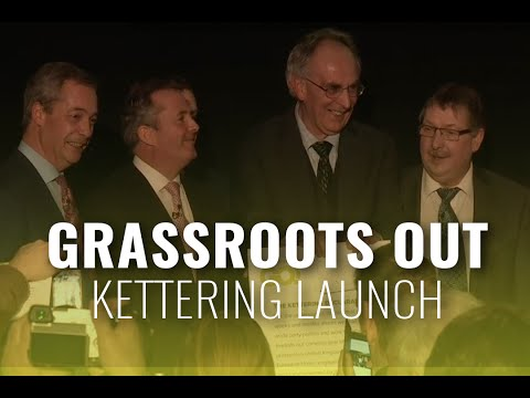 Grassroots Out Launch