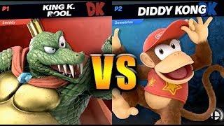 King K. Rool vs Diddy Kong