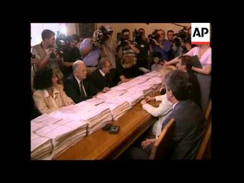 YUGOSLAVIA: BELGRADE: SLOBODAN MILOSEVIC