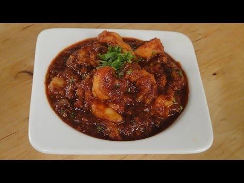 Spicy Masala Prawns   Sanjeev Kapoor Khazana