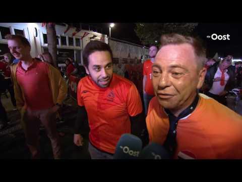 Enschede blijft oranje gekleurd: Leeuwinnen spelen de finale in Grolsch Veste