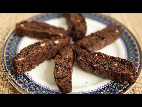 How To Make Chocolate Hazelnut Biscotti | Eggless Chocolate Hazelnut Biscotti | Recipe By Upasana