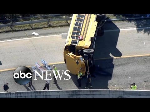 School Bus Crash | 23 Students Injured