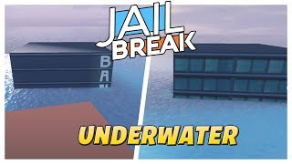 Roblox Jailbreak Underwater!| FLOODED SERVER!| Robbing underwater|