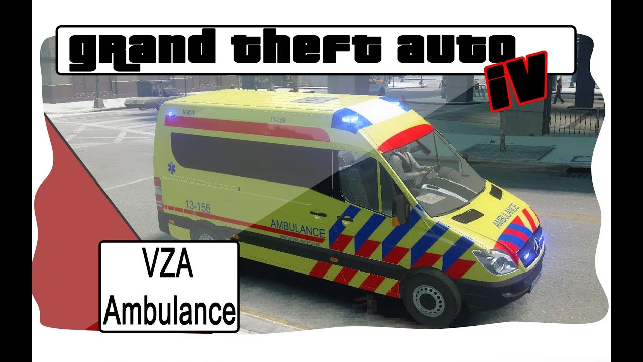 GTA 4 MB Sprinter Ambulance Amsterdam [VZA] thumbnail