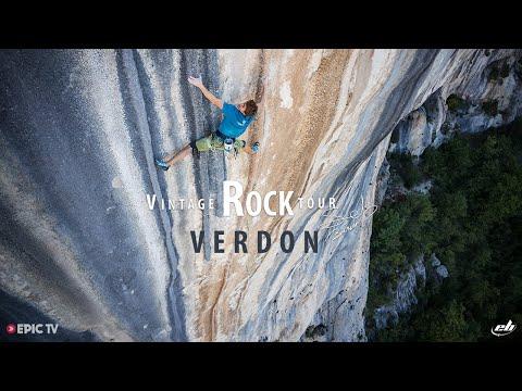 Seb Bouin's Vintage Rock Tour: Verdon Gorge