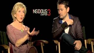 Insidious Chapter 3 Interview With Lin Shaye And Leigh Whannell