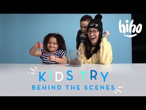 Behind the Scenes: American Kids Try