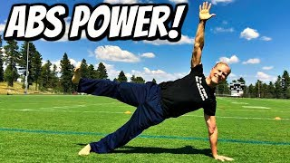 POWER PILATES ABS WORKOUT - 30 Day Pilates Challenge