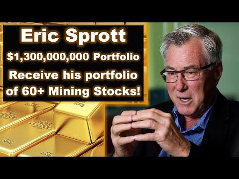 Eric Sprott's $1.3B Portfolio Comprised Of 60+ Mining Stocks