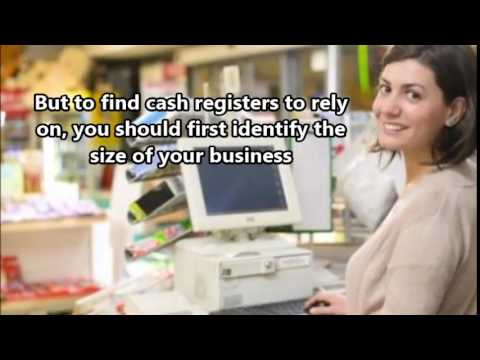 The Different Types of Cash Register