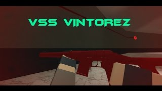 "THE VSS VINTOREZ ""THE 3 HIT DMR"" (ROBLOX Phantom Forces)"