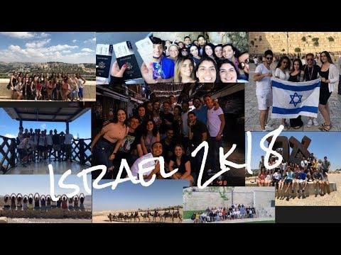 Birthright Israel Vlog 2k18