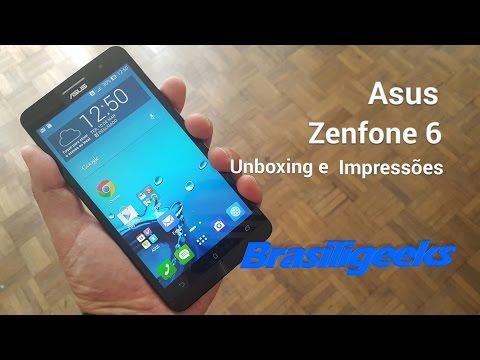 Asus Zenfone 6 - Unboxing e Impressões