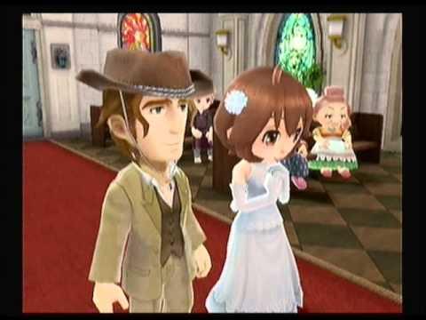 "Harvest Moon: Animal Parade ""Calvin - Marriage"" - YouTube"