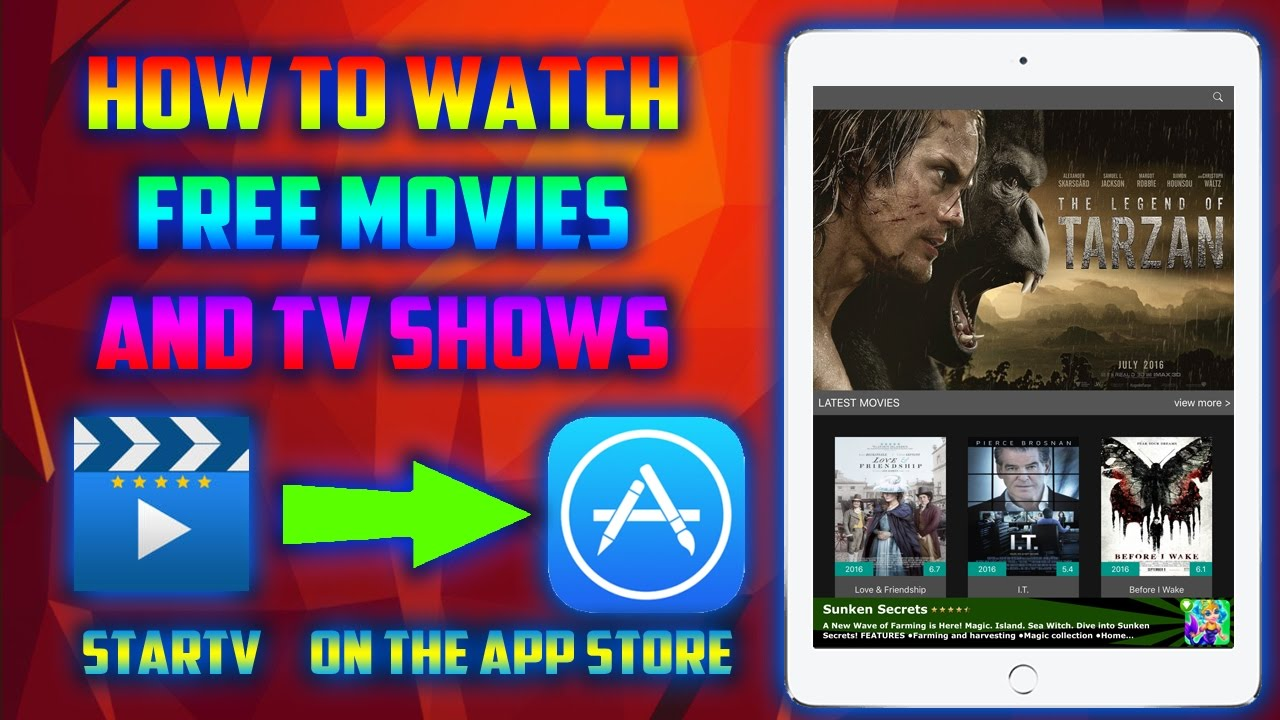 watch new movies free app iphone