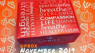 Upbox Subscription Box  November 2019  Unboxing + Discount Code