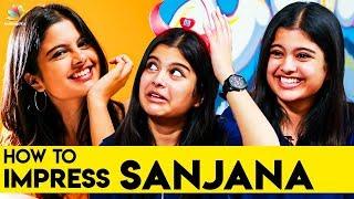 😆 அந்த அளவுக்கு தைரியம் இல்ல : Awesome Machi Sanjana Funny Interview | Vijay Sethupathi