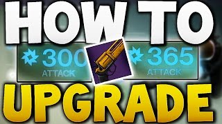 Destiny - How to Upgrade Weapons !! (House of Wolves)