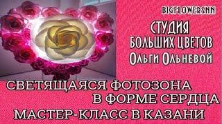 Кульминация второго дня МАСТЕР-КЛАССА Большие цветы для бизнеса от @bigflowersnn в Казани!!!
