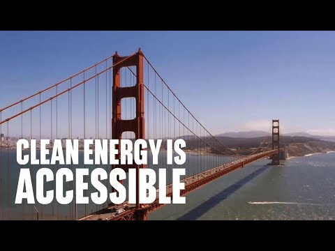 Clean energy is accessible