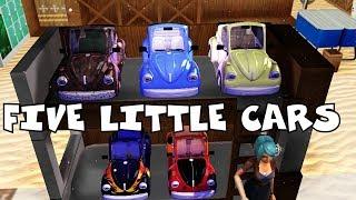 Five Little Car | Nursery Rhymes for Kids | Baby Songs | Children Songs |kids song|