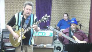 Broke Down Piece Of A Man  Johnny Roy & The RubTones in Rehearsal 02 25 14
