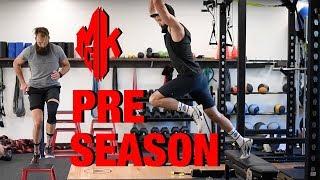 Preseason Full Body Strength Workout - Weight Room