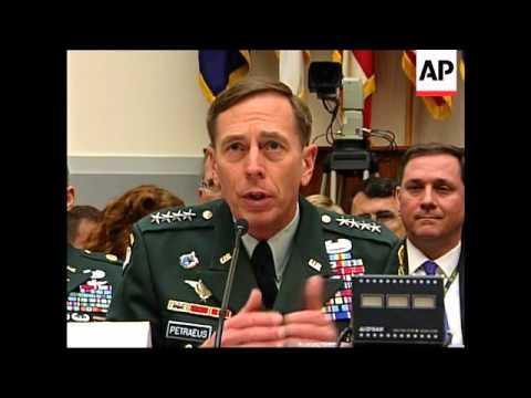 Petraeus, Crocker testify to Senate on Iraq