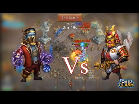 Ronin Vs Creation-01 AMAZING! Castle Clash