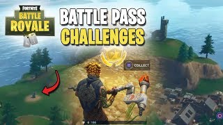 Fortnite | Battle Pass Challenges | Week #5 | Follow The Anarchy Acres Treasure Map LOCATION FOUND!