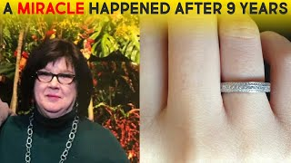 MOM ACCIDENTALLY FLUSHES HER WEDDING RING IN THE TOILET, 9 YEARS LATER GETS A STRANGE MESSAGE AT THE