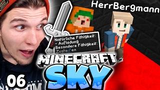 """DAS BLUT RITUAL! & """"SPRUNG SCHWERT"""" IST FERTIG! ✪ Minecraft Sky #06   Paluten"""