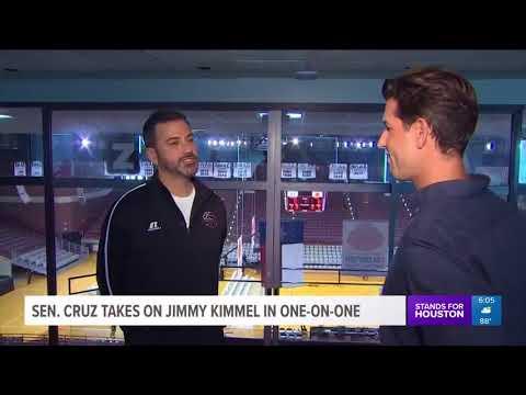 Sen. Cruz takes on Jimmy Kimmel in one-one-one
