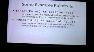 Aspect Oriented Programming (Part 2/4)