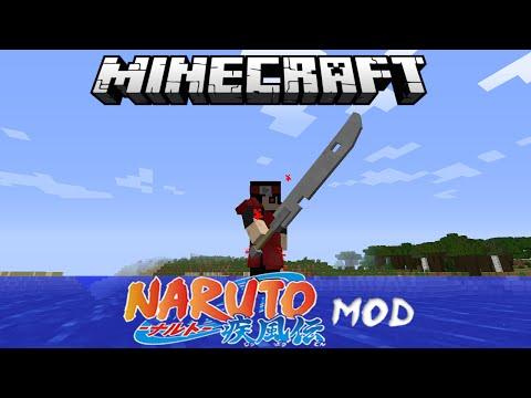 Minecraft Anime Naruto Mod Review ( Water Walking, Shadow Clones, Rinnegan, Jutsus & More)