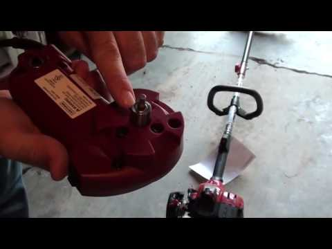 Craftsman Gas Weed Trimmer with Electric Starter - YouTube