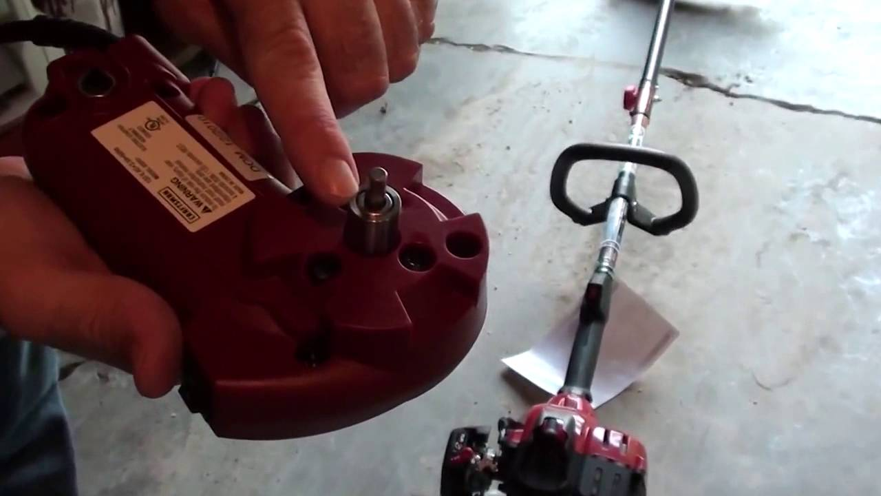 Craftsman Gas Weed Trimmer With Electric Starter