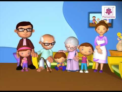 Family Song   3D English Nursery Rhyme for Children   Periwinkle   Rhyme #82