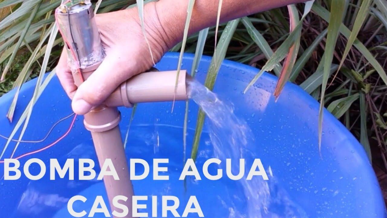 Bomba De Agua Caseira De Tubo De Pvc Saiba Como Fazer Uma Super