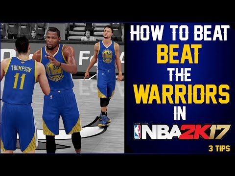 HOW TO BEAT GOLDEN STATE IN NBA 2K  (HD)