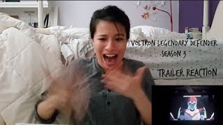Voltron: Legendary Defender Season 3 Trailers REACTION