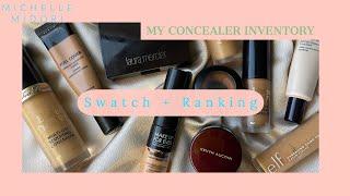My Concealer Inventory: Swatched & Ranked! - Tan Deep Skintone
