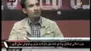مناظره بین فهیم کوهدامنی و نماینده طالبان در تلویزیون شماد