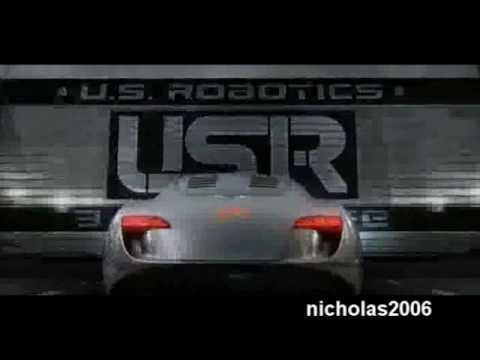 I, Robot - Audi RSQ vs Robots