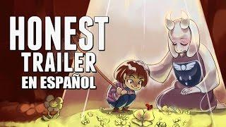 UNDERTALE (Honest Game Trailers en Español)